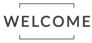 welcome sign for new dental website